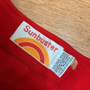 Vintage Pants - Vintage 1970s Red Jumpsuit M